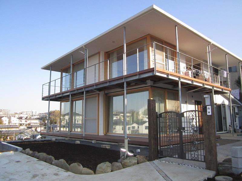 高台の家をリノベーション