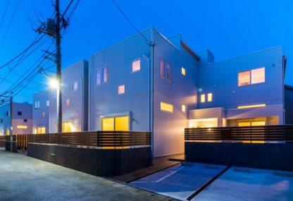 屋上テラス付き戸建て賃貸住宅